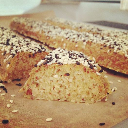 Amazing #rawfood almond bread. So tasty and so healthy